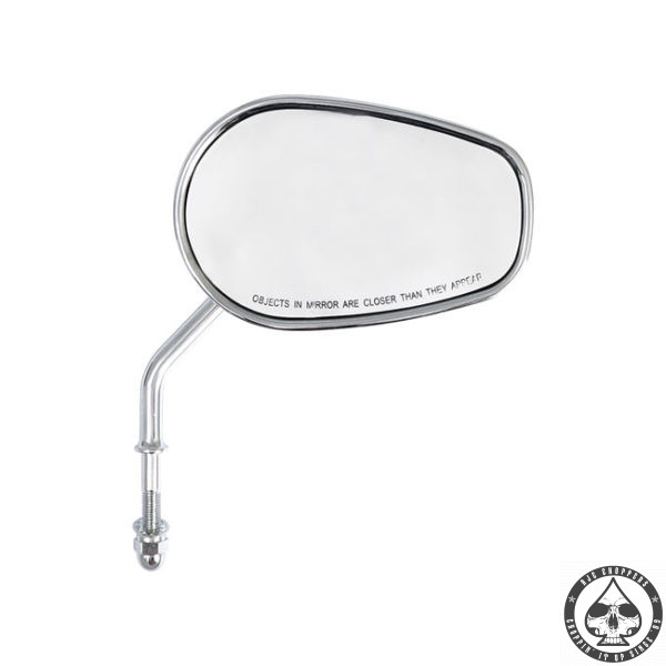 Riptide Mirror set, Short Stem, Chrome