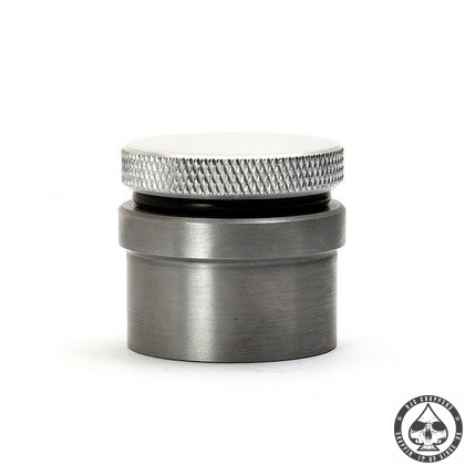 Aluminium Gas Cap vented with knurl and weld-in bung