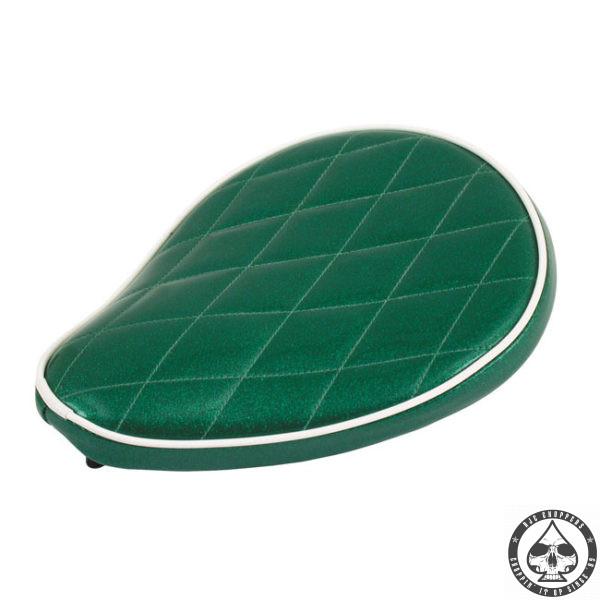 Le Pera Metal flake Solo Seat, Mean green