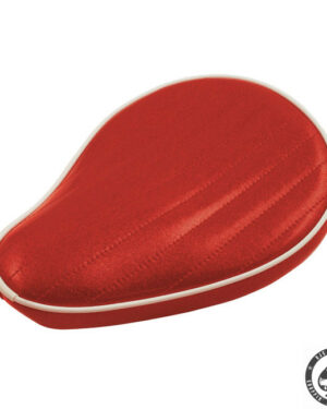 Le Pera Metal flake Solo Seat, Candy Red