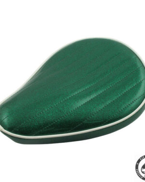 Le Pera Metal flake Solo Seat, Mean green