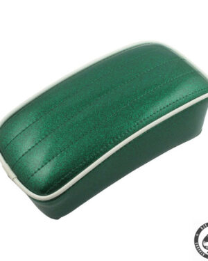 Le Pera Metal flake color Pillions, P-pad, Mean Green
