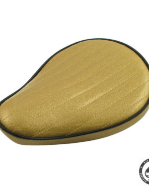 Le Pera Metal flake Solo Seat, Solid Gold