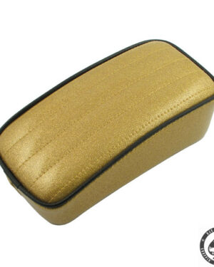 Le Pera Metal flake color Pillions, P-pad, Solid Gold