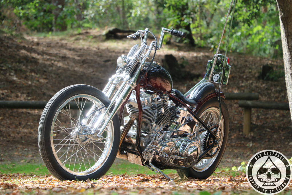 Best Early Shovel out there  and a new Brand – Chopper Kings Handlebars!!