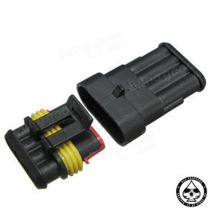 Waterproof DIY 4-way connector