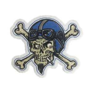 Lethal Threat Patch, Crossbone Skull