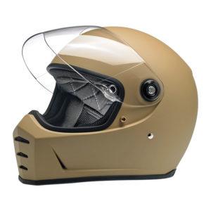 Biltwell Lane Splitter Helmet - Flat coyote tan - ECE