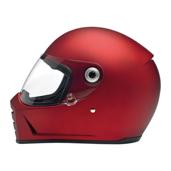 Biltwell Lane Splitter Helmet - Flat red - ECE