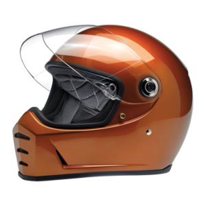 Biltwell Lane Splitter Helmet - Gloss copper - ECE