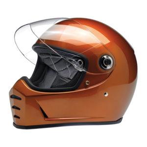 Biltwell Lane Splitter Helmet - Gloss copper - ECE