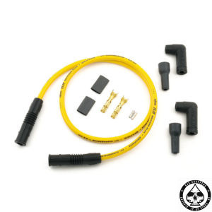 ACCEL Universal 8.8mm plug wires Suppression Core, Yellow
