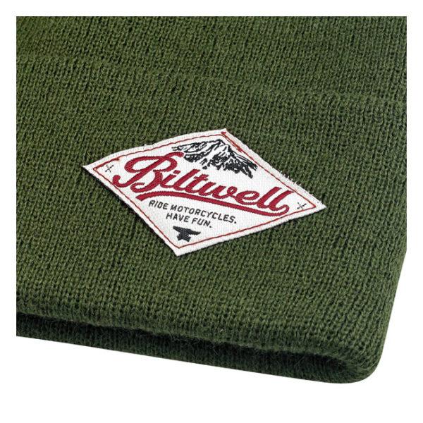 Biltwell Camper Beanie, Olive