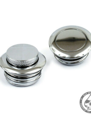 Pop-up Gas cap, 83-95, Chrome