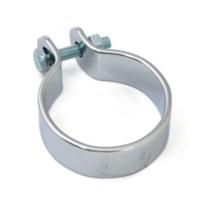 "Universal Muffler Clamp, Chrome (1 7/8"")"