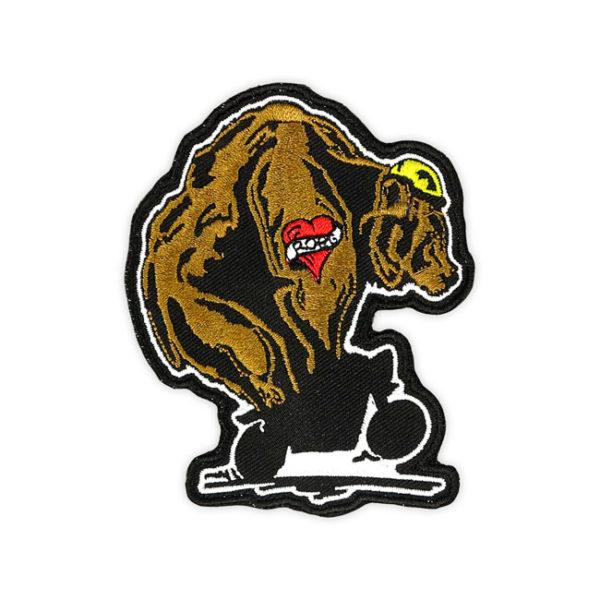Roeg Throttle bear patch