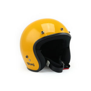 Roeg Jett Helmet - Sunset Yellow
