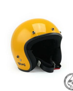 Roeg Jett Helmet - Sunset Yellow