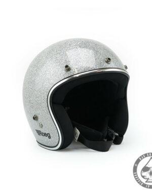 Roeg Jett Helmet - Disco Silver