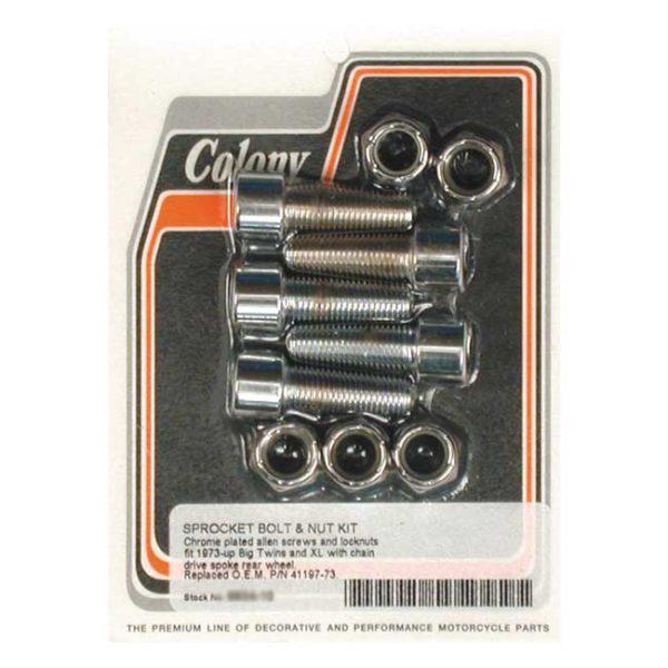Colony Sprocket Bolt/nut kit