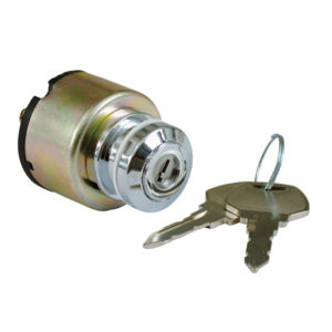 Ignition switch, thick with flat key