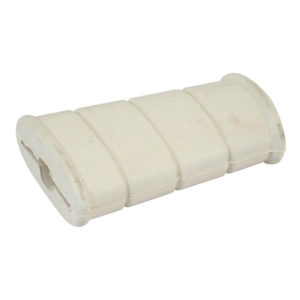 Replacement Rubber, Flat kicker, White
