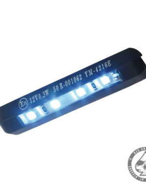 License plate light 4-LED