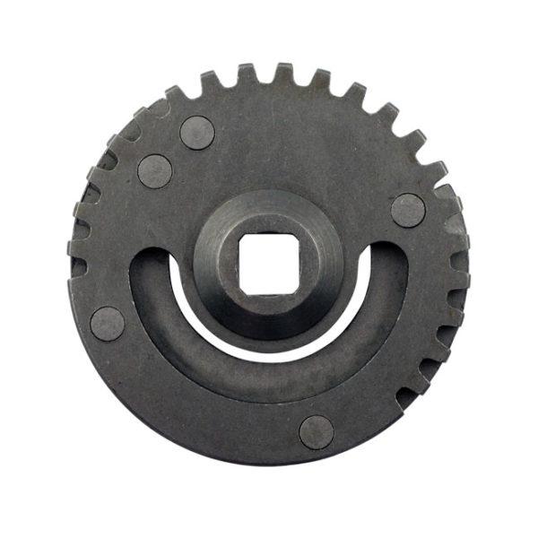Kickstart crank gear, 57-77 XL