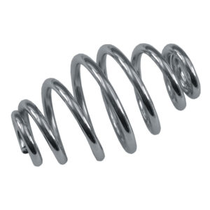 Solo seat springs, Tapered, Chrome