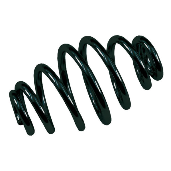 Solo seat springs, Tapered, Black