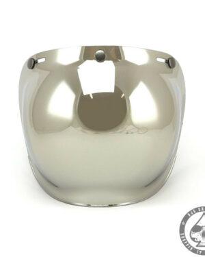 Roeg Bubble visor for Jett helmet, Chrome