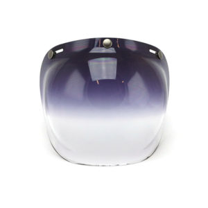 Roeg Bubble visor for Jett helmet, Dark Smoke