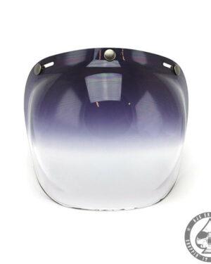 Roeg Bubble visor for Jett helmet, Dark Smoke