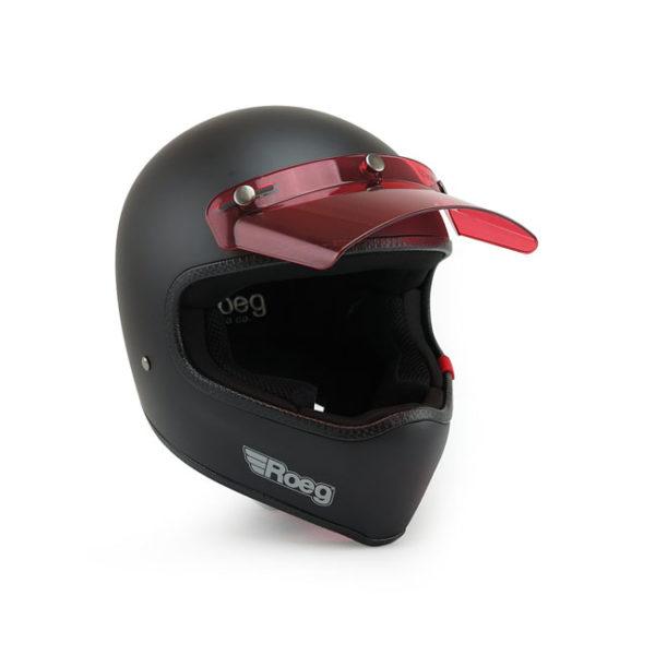 Roeg Sonny peak visor, Red