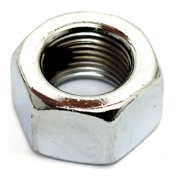 Hex Nut, 1/2-13, Chrome