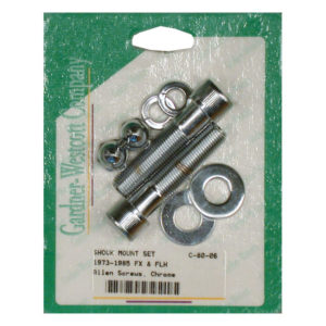 Lower Shock mounting kit, Allen, 73-86 BT