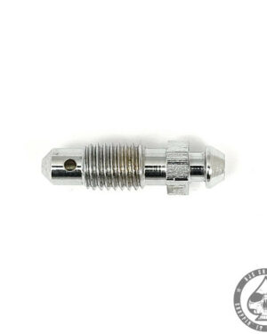 Brake Bleeder 1/4-28, Chrome