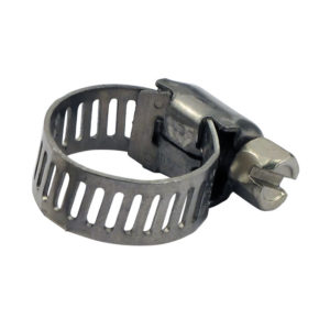 Hose clamp 7/32 to 5/8 inch, stainless