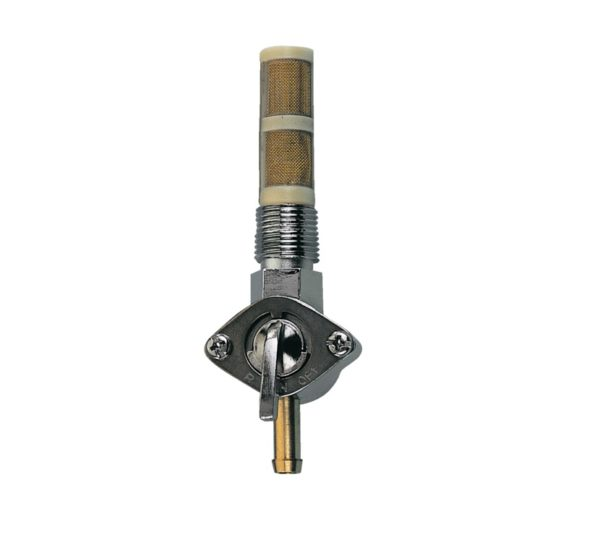 """Early style petcock 1/4""""NPT, Straight outlet"""